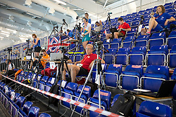 Coach's and classifiers video tribune  at 2015 IPC Swimming World Championships -