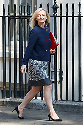 © Licensed to London News Pictures. 04/07/2017. London, UK. Chief Secretary to the Treasury LIZ TRUSS attends a cabinet meeting in Downing Street, London on Tuesday, 4 July 2017.Photo credit: Tolga Akmen/LNP