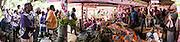 Afin de sceller l'alliance entre le clan de la femme et celui de l'homme, les oncles maternels de l'époux prennent la parole pour demander la femme. Ensuite, un porte-parole du clan Kona parle quant à lui pour les enfants qui porteront désormais le même nom de famille.  - Mariage Kanak  - Tribu de Méhoué, Canala – Nouvelle Calédonie – Septembre 2013
