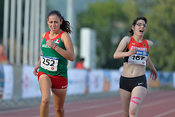 03/08/2017; Muro Padilla, Lucia Fernanda, T38, MEX, Braun, Vanessa, GER at 2017 World Para Athletics Junior Championships, Nottwil, Switzerland