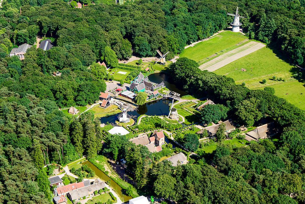 Nederland, Gelderland, Arnhem, 09-06-2016; Nederlands Openluchtmuseum.<br /> Netherlands Open Air Museum.<br /> <br /> luchtfoto (toeslag op standard tarieven);<br /> aerial photo (additional fee required);<br /> copyright foto/photo Siebe Swart