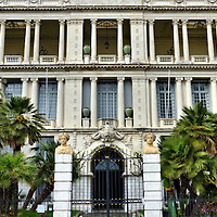 Palais de la Préfecture in Nice, France <br /> In 1613, Charles Emmanuel I made the Palais de la Préfecture his residence.  It then became the palace for generations of Dukes of Savoy, a European ruling family dynasty.  Since 1860, around the time that Victor Emmanuel II became King of Italy, the building became the government administration office for the Alpes-Maritimes region.