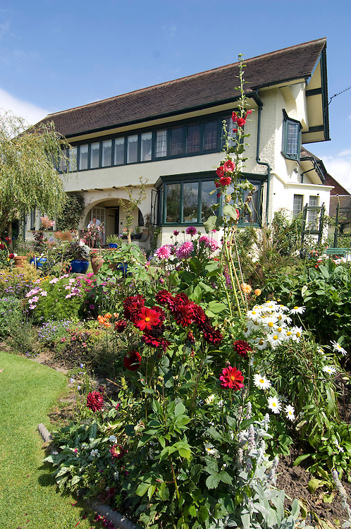 Pottery designer Clarice Cliff's  cottage, Chetwynd House, Newcastle under Lyme, Staffordshire