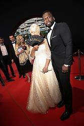 Helen Mirren;Jackson Curtis (50 Cent) attending the closing ceremony of the 57th Monte-Carlo Television Festival in Monaco on June 20, 2017. Photo by ABACAPRESS.COM    597266_009 Monaco Monaco