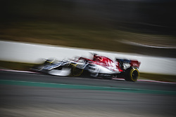 February 28, 2019 - Barcelona, Catalonia, Spain - ANTONIO GIOVINAZZI (ITA) from team Alfa Romeo drives during day seven of the Formula One winter testing at Circuit de Catalunya (Credit Image: © Matthias Oesterle/ZUMA Wire)