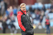 Liverpool Manager Jurgen Klopp  during the Barclays Premier League match between Aston Villa and Liverpool at Villa Park, Birmingham, England on 14 February 2016. Photo by Simon Davies.