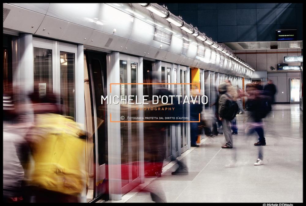 Metropolitana automatica di Torino, stazione XVIII dicembre Porta susa