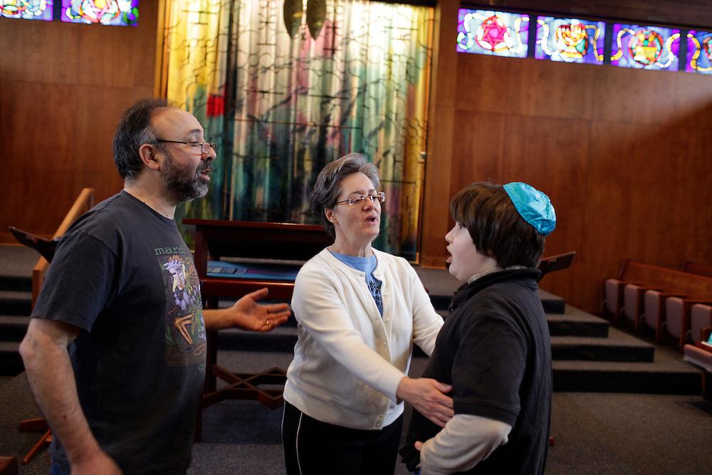 Isaac Hart's Bah Mitzvah, Durham, N.C., Jan. 7, 2011.