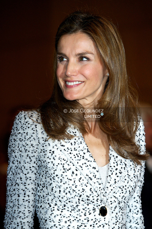 "Princess Letizia attends the Congress' 60 years of life because of you "", the Spanish Association Against Cancer (AECC) at Palacio de Congresos on September 19, 2013 in Madrid"