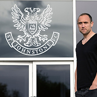 St Johnstone's Lee Croft who has signed a pre-contract agreement with his old club Oldham Athletic pictured at McDiarmid Park ahead of this weekend's last game of the season against Aberdeen...21.05.15<br /> Picture by Graeme Hart.<br /> Copyright Perthshire Picture Agency<br /> Tel: 01738 623350  Mobile: 07990 594431