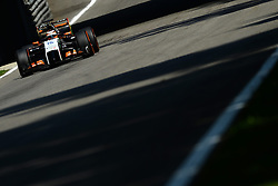 06.09.2014, Autodromo di Monza, Monza, ITA, FIA, Formel 1, Grand Prix von Italien, Qualifying, im Bild Nico Hulkenberg (GER) Force India VJM07. // during the Qualifying of Italian Formula One Grand Prix at the Autodromo di Monza in Monza, Italy on 2014/09/06. EXPA Pictures © 2014, PhotoCredit: EXPA/ Sutton Images/ Lundin<br /> <br /> *****ATTENTION - for AUT, SLO, CRO, SRB, BIH, MAZ only*****