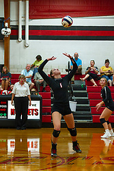 24 September 2019:    Dee Mack Chiefs at Heyworth Hornets Girls Volleyball at Heyworth Illinois