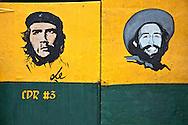 Image of Ernesto Che Guevara in El Cobre, Santiago de Cuba, Cuba.