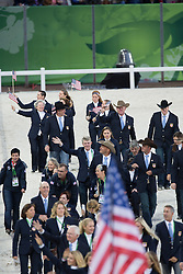 Opening Ceremony Team USA<br /> Alltech FEI World Equestrian Games™ 2014 - Normandy, France.<br /> © Hippo Foto Team - Dirk Caremans<br /> 25/06/14