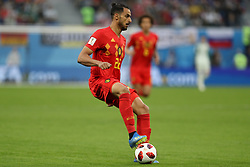 July 10, 2018 - SãO Petersburgo, Rússia - SÃO PETERSBURGO, MO - 10.07.2018: FRANÇA X BÉLGICA - Nacer Chadli during the match between France and Belgium valid for the semifinal of the 2018 World Cup, held at the Krestovsky Stadium (Zenit Arena) in St. Petersburg, Russia. (Credit Image: © Ricardo Moreira/Fotoarena via ZUMA Press)