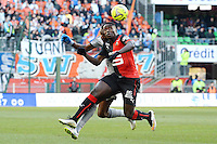 Paul Georges NTEP - 07.02.2015 - Rennes / Marseille - 24eme journee de Ligue 1<br /> Photo : Gaston Petrelli / Icon Sport