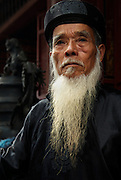 A temple guardian.