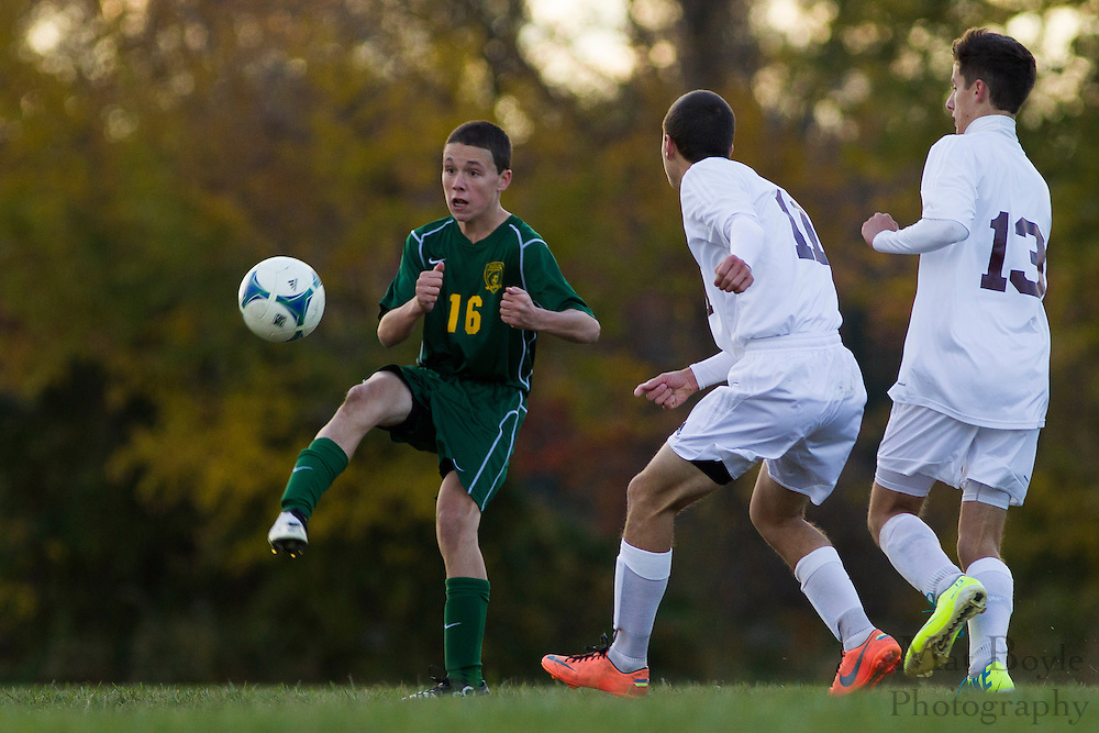 Audubon High School Boy's Soccer at Glassboro High School in Glassboro, NJ on Friday November 8, 2013. (photo / Mat Boyle)