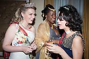 LULU ATANDA; JULIA SEIFERTT, The Royal Caledonian Ball 2013. The Great Room, Grosvenor House. Park lane. London. 3 May 2013.