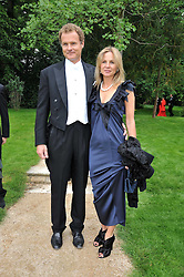 VISCOUNT & VISCOUNTESS ROTHERMERE at the Raisa Gorbachev Foundation fourth annual fundraising gala dinner held at Stud House, Hampton Court, Surrey on 6th June 2009.