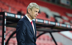 Arsenal manager Arsene Wenger arrives at the Vitality stadium. stadium.  - Mandatory by-line: Alex James/JMP - 03/01/2017 - FOOTBALL - Vitality Stadium - Bournemouth, England - Bournemouth v Arsenal - Premier League