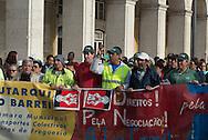 Portugal. Lisbon. demonstration against austerity
