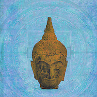 A classic pop buddha portrait.