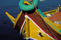 Traditional boat - Marsaxlokk - Malta
