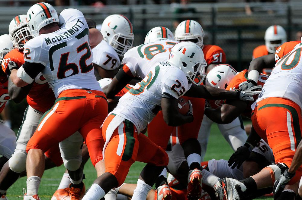 2012 Miami Hurricanes Football Spring Scrimmage @ Ted Hendricks Stadium