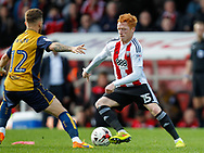 Ryan Woods of Brentford during the Sky Bet Championship match between Brentford and Bristol City at Griffin Park, London<br /> Picture by Mark D Fuller/Focus Images Ltd +44 7774 216216<br /> 01/04/2017