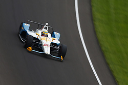 May 18, 2018 - Indianapolis, Indiana, United States of America - GABBY CHAVES (88) of Colombia brings his car through turn one during ''Fast Friday'' practice for the Indianapolis 500 at the Indianapolis Motor Speedway in Indianapolis, Indiana. (Credit Image: © Chris Owens Asp Inc/ASP via ZUMA Wire)