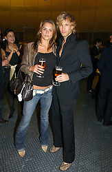 RICK PARFITT jnr and actress CHLOE BAILEY  at a party to celebrate the launch of Pilsner Urquell beer held in the Pavillion at The Serpentine Gallery, London on 4th October 2006.<br /><br />NON EXCLUSIVE - WORLD RIGHTS