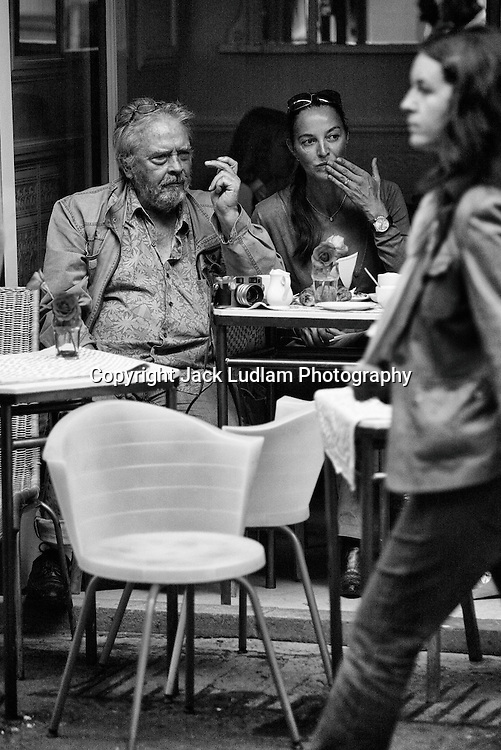 David Bailey people watching,soho London