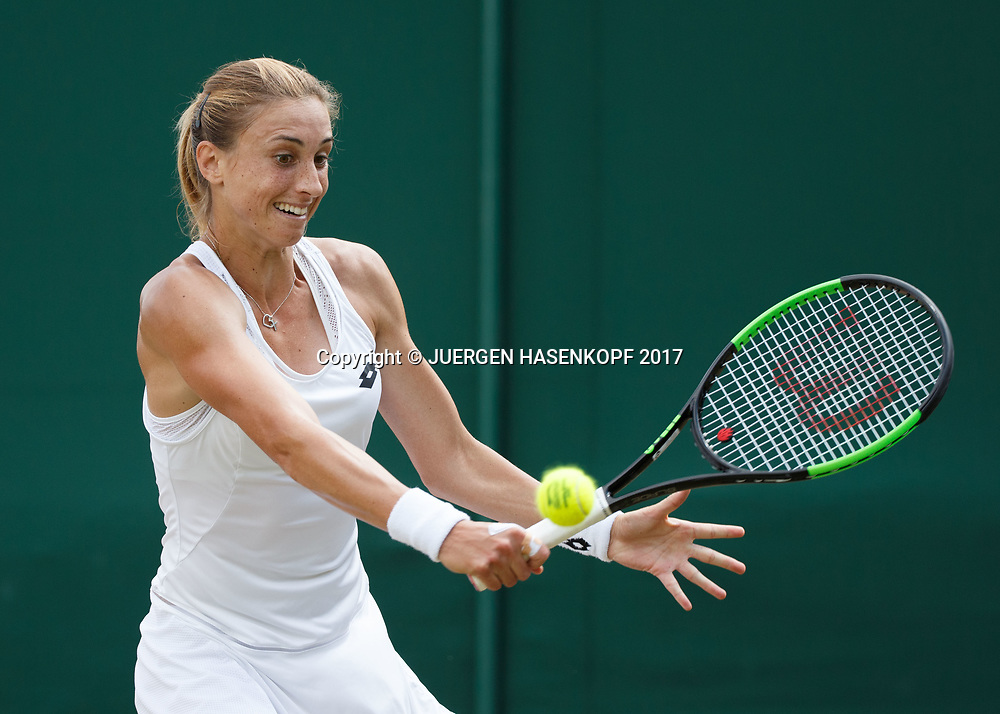 PETRA MARTIC (CRO)<br /> <br /> Tennis - Wimbledon 2017 - Grand Slam ITF / ATP / WTA -  AELTC - London -  - Great Britain  - 10 July 2017.