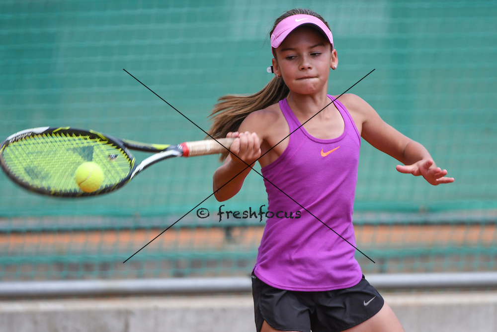 12.07.2017; Bellinzona; TENNIS - Junior Champion Trophy 2017; <br /> Lara Cebic <br /> (Andy Mueller/freshfocus)