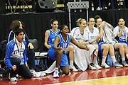 Cile 22/07/2011<br /> Campionato Mondiale Femminile U19<br /> Italia-Cina<br /> nella foto: team nazionale Diene Nene<br /> foto ciamillo-castoria