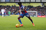 Crystal Palace defender Pape Souare  during the Barclays Premier League match between Crystal Palace and Liverpool at Selhurst Park, London, England on 6 March 2016. Photo by Simon Davies.