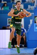 DESCRIZIONE : Lubiana Ljubliana Slovenia Eurobasket Men 2013 Second Round Lituania Ucraina Lithuania Ukraine<br /> GIOCATORE : Mantas Kalnietis<br /> CATEGORIA : Passaggio<br /> SQUADRA : Lituania Lithuania<br /> EVENTO : Eurobasket Men 2013<br /> GARA : Lituania Ucraina Lithuania Ukraine<br /> DATA : 15/09/2013 <br /> SPORT : Pallacanestro <br /> AUTORE : Agenzia Ciamillo-Castoria/Max.Ceretti<br /> Galleria : Eurobasket Men 2013<br /> Fotonotizia : Lubiana Ljubliana Slovenia Eurobasket Men 2013 Second Round Lituania Ucraina Lithuania Ukraine<br /> Predefinita :