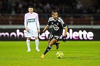Walid MESLOUB  - 04.03.2015 - Evian Thonon / Lorient - Match en retard de la 26eme journee de Ligue 1 <br />Photo : Jean Paul Thomas / Icon Sport