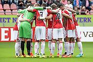 21-08-2016: Voetbal: FC Utrecht v AZ: Utrecht<br /> <br /> (L-R) FC Utrecht tijdens het Eredivsie duel tussen FC Utrecht en AZ Alkmaar in stadion Galgenwaard te Utrecht op 21 augustus tijdens speelronde 3<br /> <br /> Eredivisie - Seizoen 2016 / 2017<br /> <br /> Foto: Gertjan Kooij
