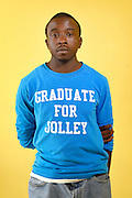 MoeShawn Brooks, 18.<br /> <br /> Portraits of eight students who are graduating from Renaissance Academy in 2016 — after a school year where three students were killed, including one inside the school.