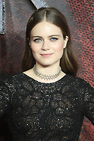 Hera Hilmar, Mortal Engines - World Premiere, Leicester Square, London, UK, 27 November 2018, Photo by Richard Goldschmidt