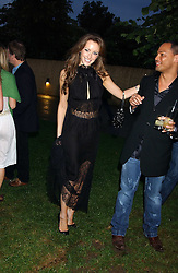 CAMILLA AL FAYED at the annual Serpentine Gallery Summer Party co-hosted by Jimmy Choo shoes held at the Serpentine Gallery, Kensington Gardens, London on 30th June 2005.<br /><br />NON EXCLUSIVE - WORLD RIGHTS