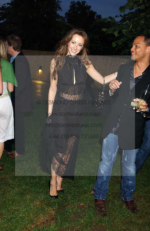CAMILLA AL FAYED at the annual Serpentine Gallery Summer Party co-hosted by Jimmy Choo shoes held at the Serpentine Gallery, Kensington Gardens, London on 30th June 2005.<br />