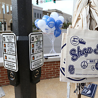 The Downtown Main St. Association organized Shop Small to support local small businesses downtown on Main St. Saturday