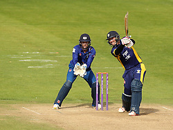 Durham's Keaton Jennings plays through the covers - Mandatory by-line: Robbie Stephenson/JMP - 07966386802 - 04/08/2015 - SPORT - CRICKET - Bristol,England - County Ground - Gloucestershire v Durham - Royal London One-Day Cup