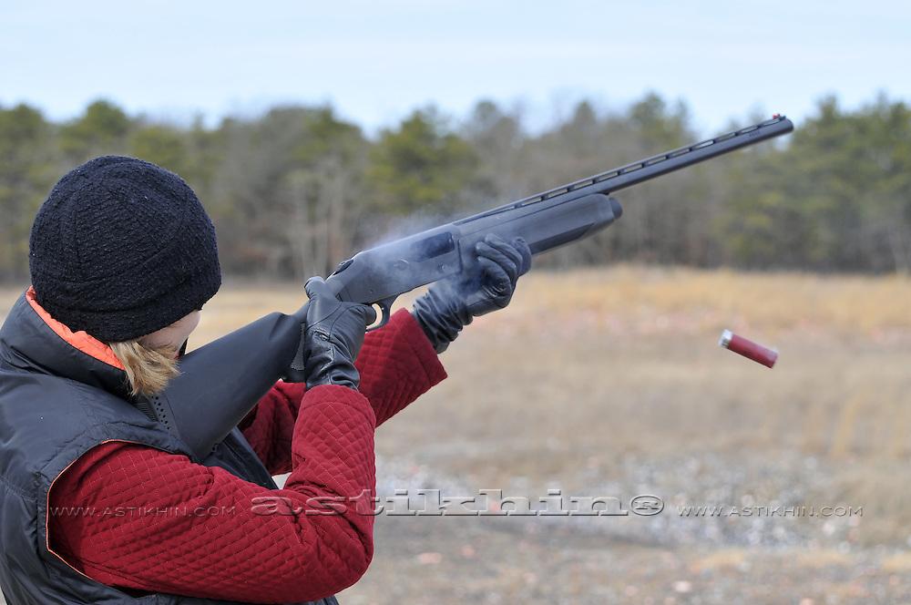 Shooting on range