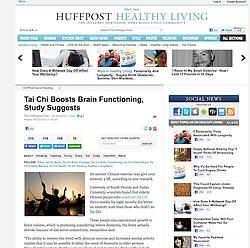 Huffington Post; Tai Chi at Dawn in Shanghai