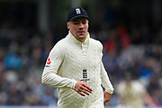 Rory Burns of England during the International Test Match 2019, fourth test, day two match between England and Australia at Old Trafford, Manchester, England on 5 September 2019.