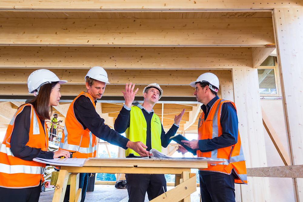 architectus and lipman on site at the macquarie university incubator